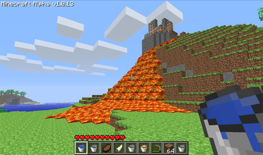 Juegos Minecraft hay que echarle bloques    Than  More